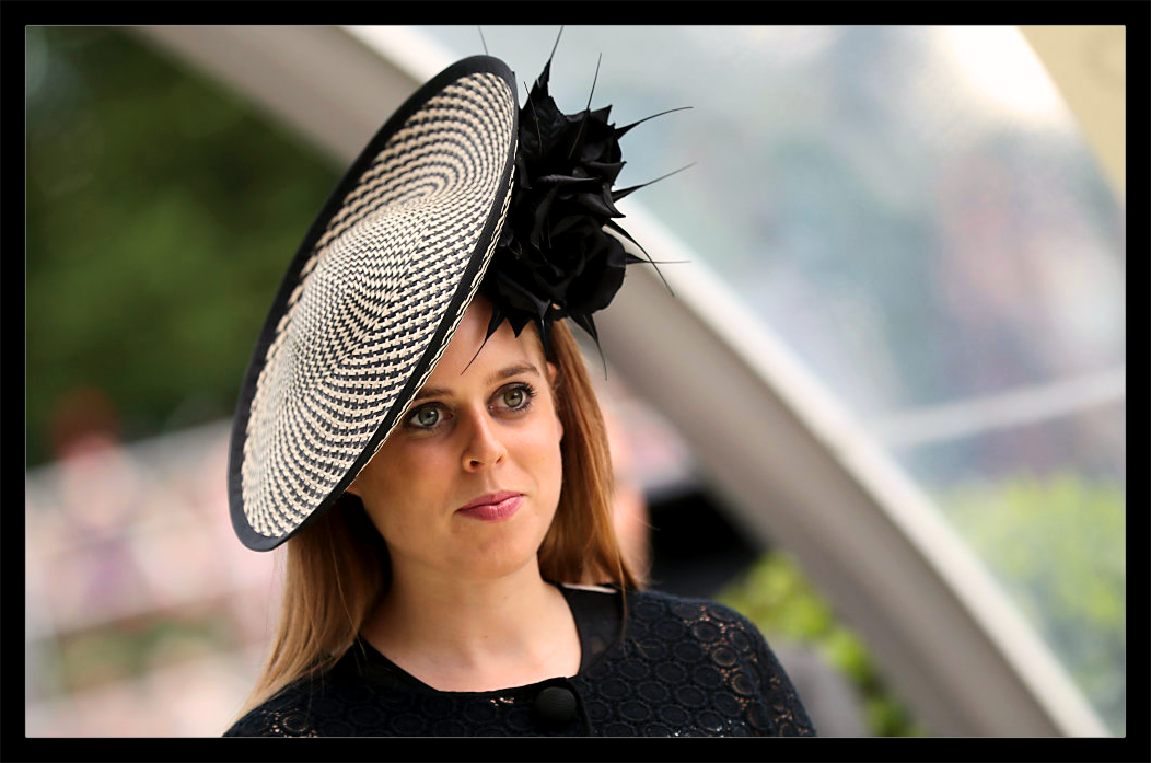 princess beatrice of york, fashion, style, hat,